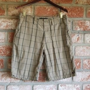 Oakley plaid Bermuda shorts